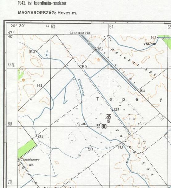 koordináta térkép magyarország Földrajzi és térképi koordináták szabatos használata GPS vevőkön koordináta térkép magyarország